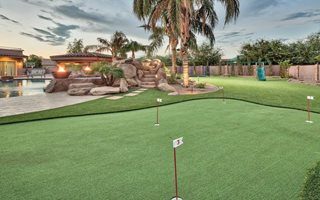 Fore! Tips to Improve your Golf Game at Home with a Synthetic Turf Lawn