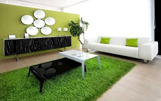 Artificial Turf as Home Décor